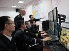 中俄联合军演舰艇实弹射击