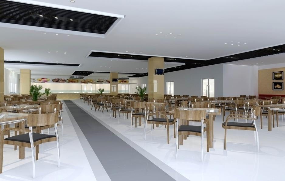 高校非就餐时段食堂变自习室