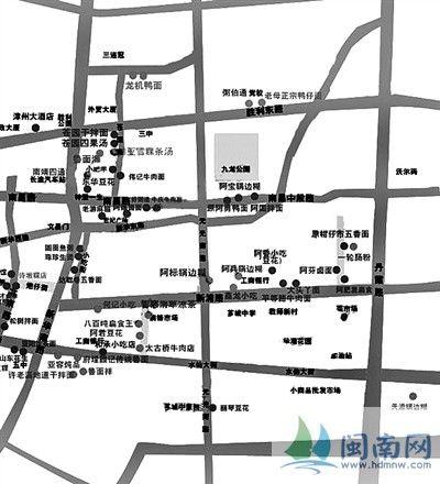 绘漳州美食地图(图)