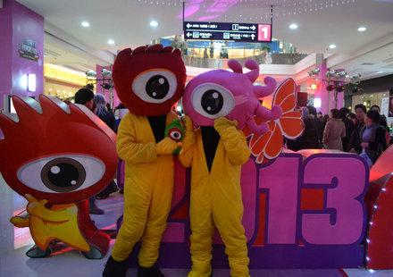 2013红动厦门跨年派对精彩现场