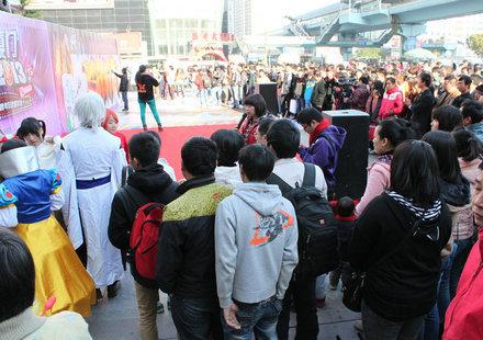 2013红动厦门现场人气火爆