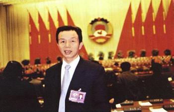 当选2001年福建经济年度人物