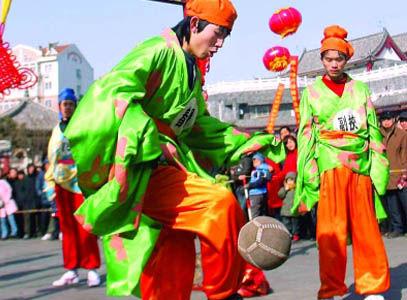蹴鞠_【图】【古韵之美】之蹴鞠br蹴鞠是中国古代