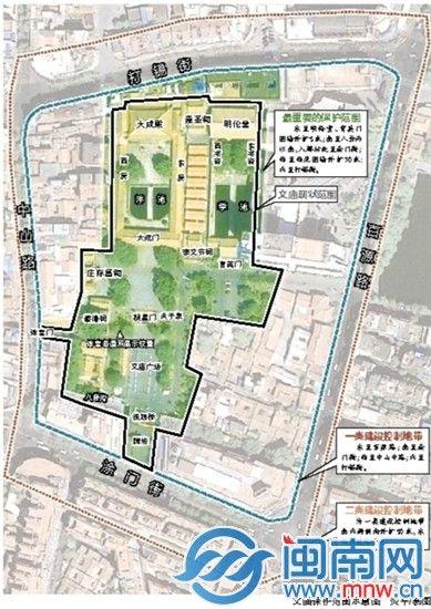 泉州府文庙保护规划方案