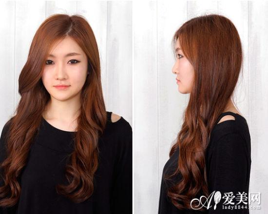 style8:侧分长卷发