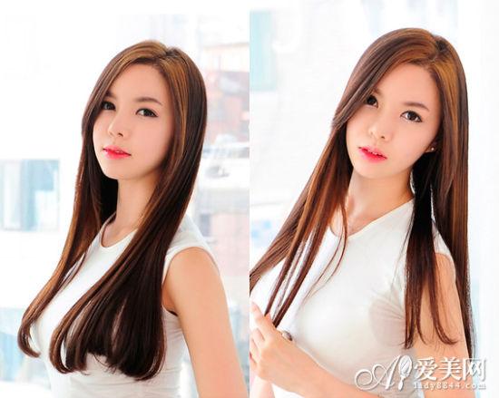 style10:侧分长直发