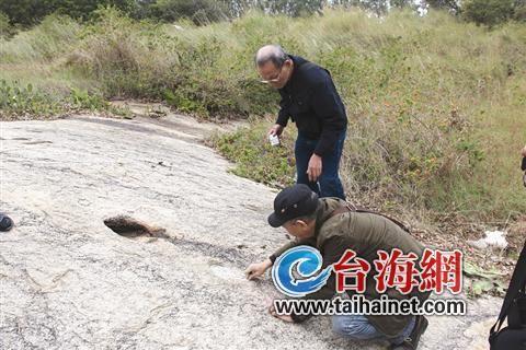 东山文史工作者发现这处岩画