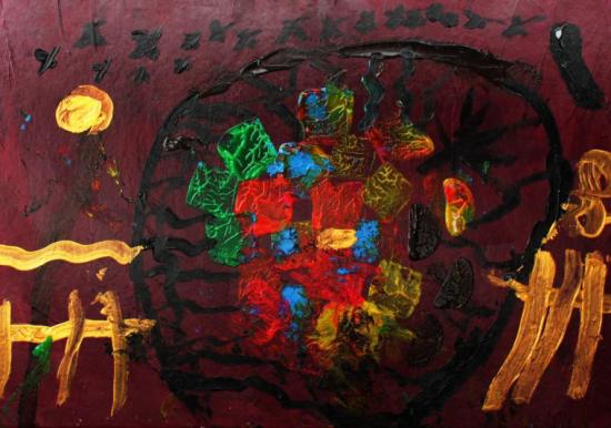 少年绘画大赛获奖作品