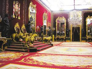 马德里皇宫内景图片