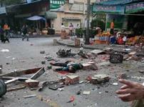 厦门小吃店爆炸4人亡 多人受伤现场惨烈(组图)