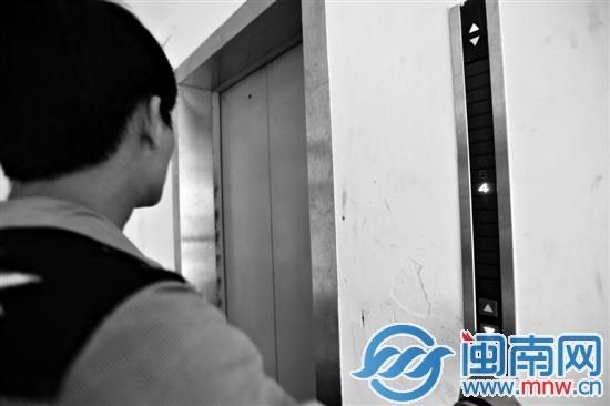 电梯带病运行,是漳州电梯里的一大现象