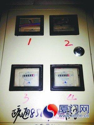 三相电表分白天夜晚的接线图