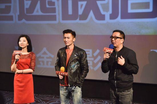 谢霆锋来厦宣传电影 不老颜值令粉丝疯狂
