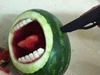 牛人教你吃西瓜
