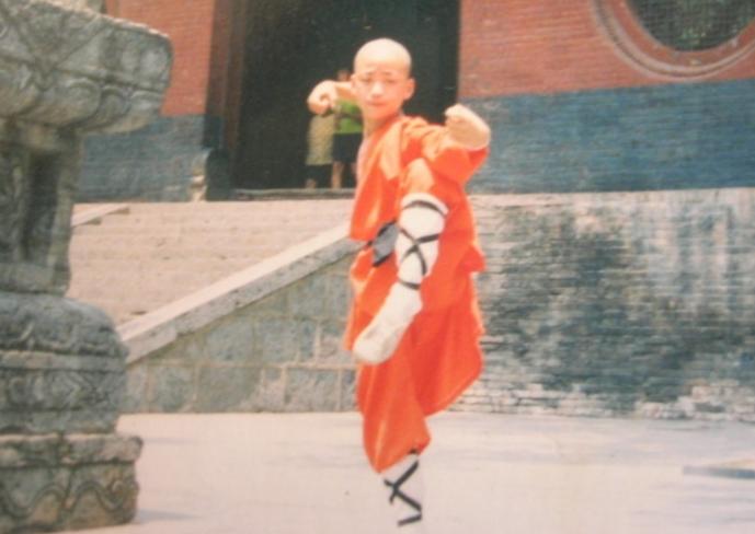 王宝强少林寺习武
