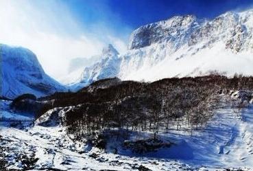 实拍福建雪景
