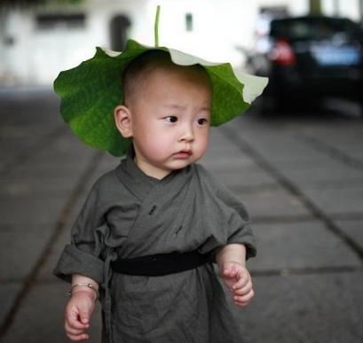 """西禅寺超萌""""小和尚"""""""
