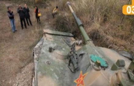 浙江土豪老板20万购两栖坦克当越野车玩