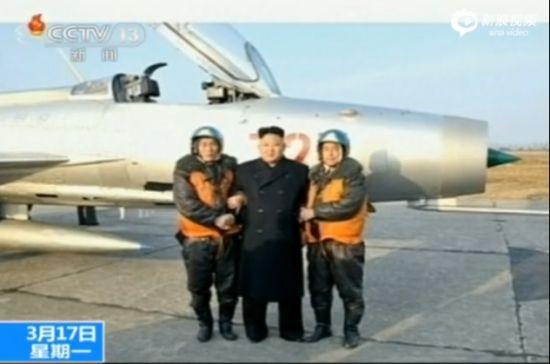金正恩指导朝空军飞行训练称建天上敢死队