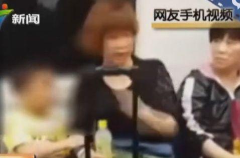 港人因内地幼童地铁内吃东西与其母亲大吵