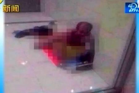 广西男子取款机大厅强奸精神失常女子被抓