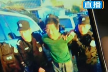 越狱案逃犯被捕照片曝光 精神状态萎靡