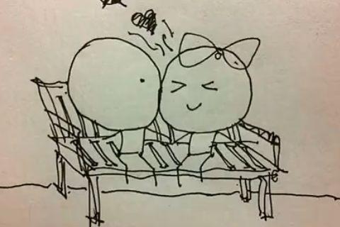 男生绘1182张漫画拼成动画 感动异地恋女友