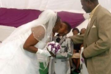 8岁男童娶61岁老妇为妻 称系已故祖父旨意